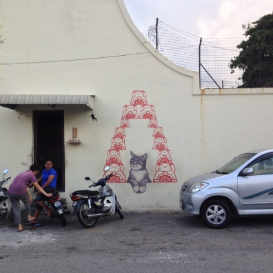 Street art of George Town, Penang, Malaysia