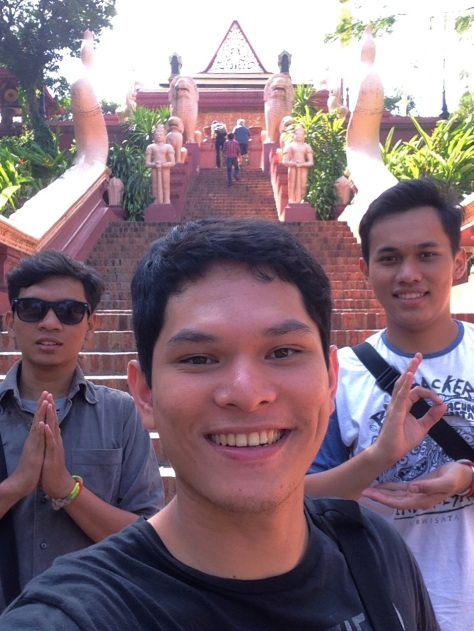 Taken in front of Wat Phnom