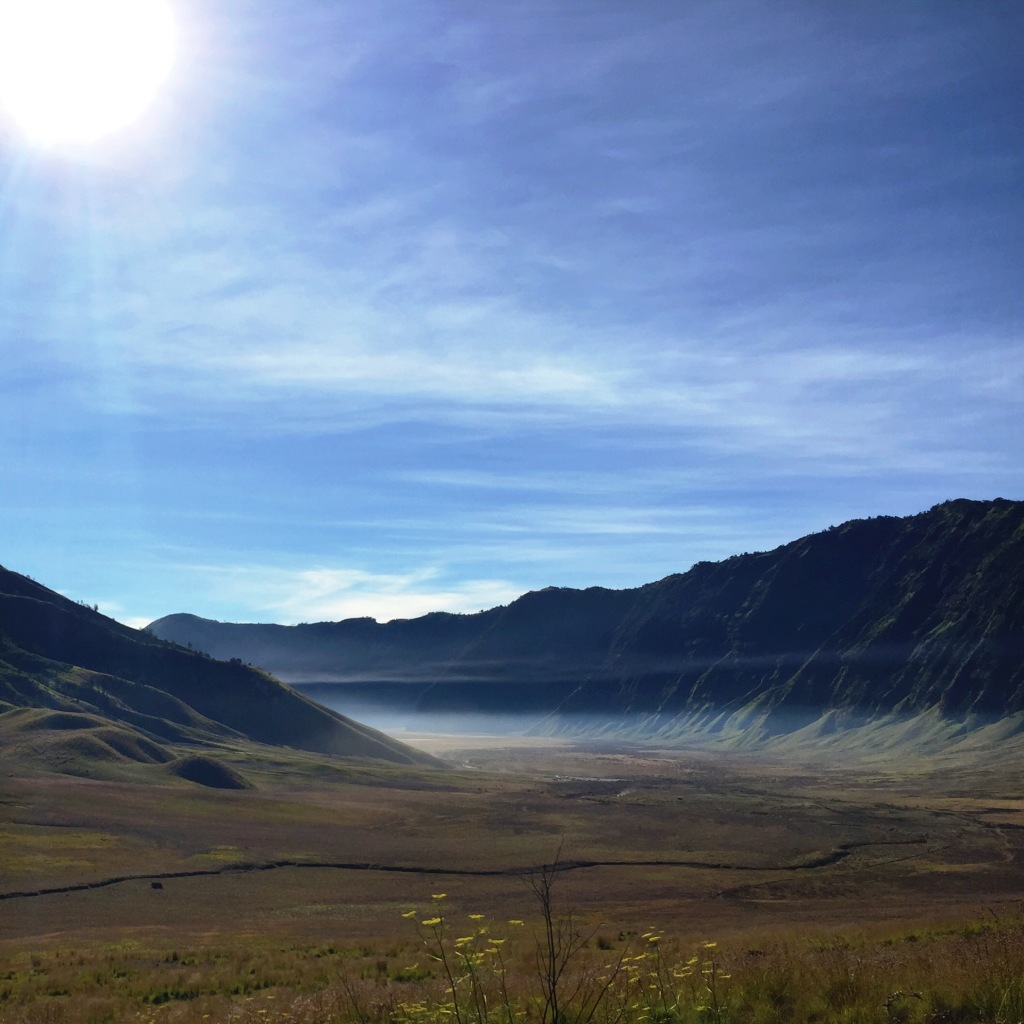This is the view getting to Bromo from Malang