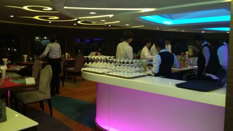 Bar inside the Cruise