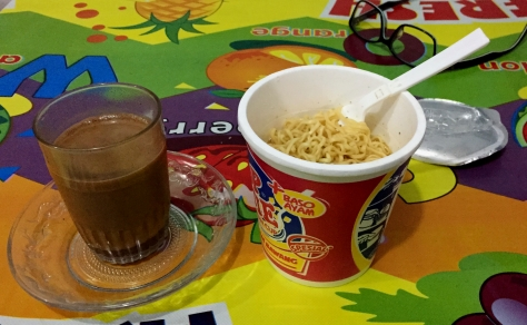 Perfect combination. I also had these at Bromo
