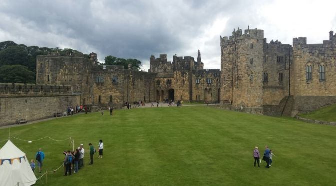 Alnwick Castle (Alnmouth, Northumberland)