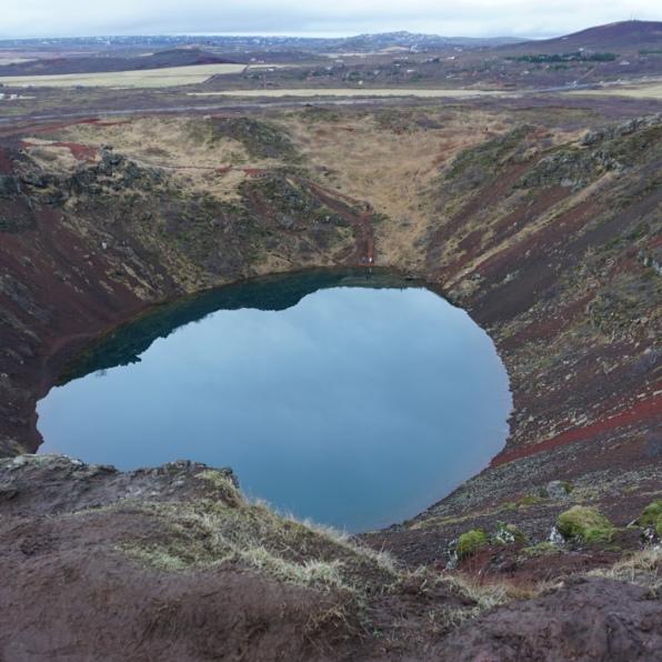 Kerid (Kerið) Crater Lake